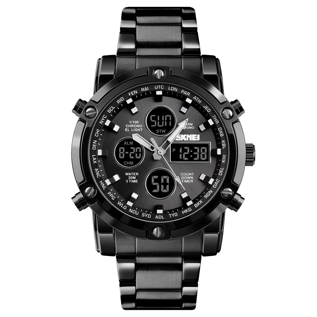 کد تخفیف                                      ساعت مچی عقربه ای مردانه اسکمی مدل 1389