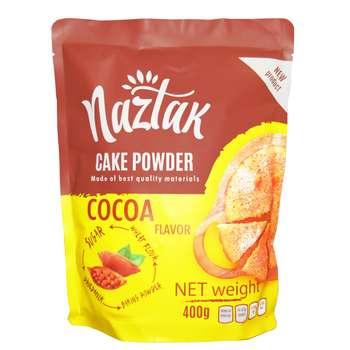 پودر کیک کاکائو نازتک - 400 گرم