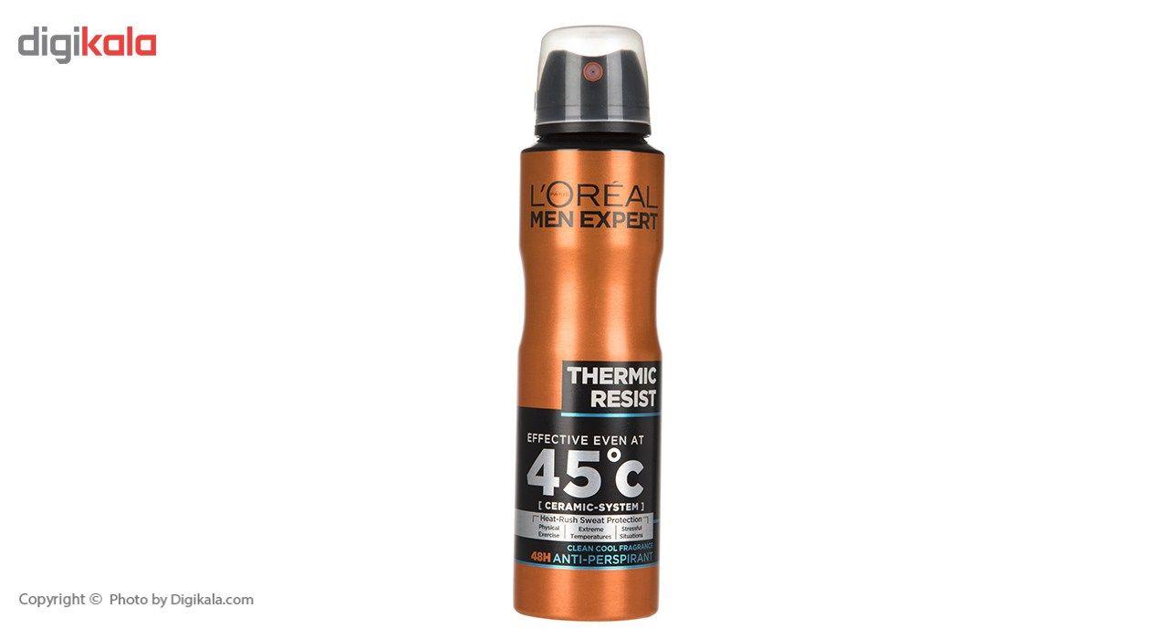 اسپری ضد تعریق لورآل سری Men Expert مدل Thermic Resist حجم 150 میلی لیتر main 1 1