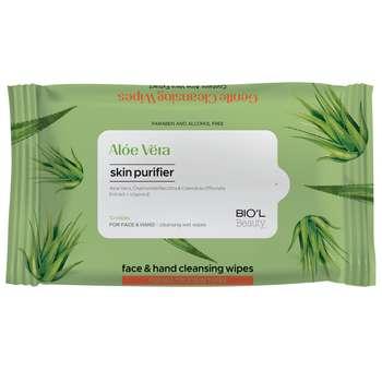 دستمال مرطوب بیول مدل Aloe Vera بسته 10 عددی