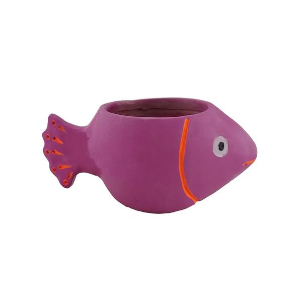 گلدان طرح ماهی مدل 01