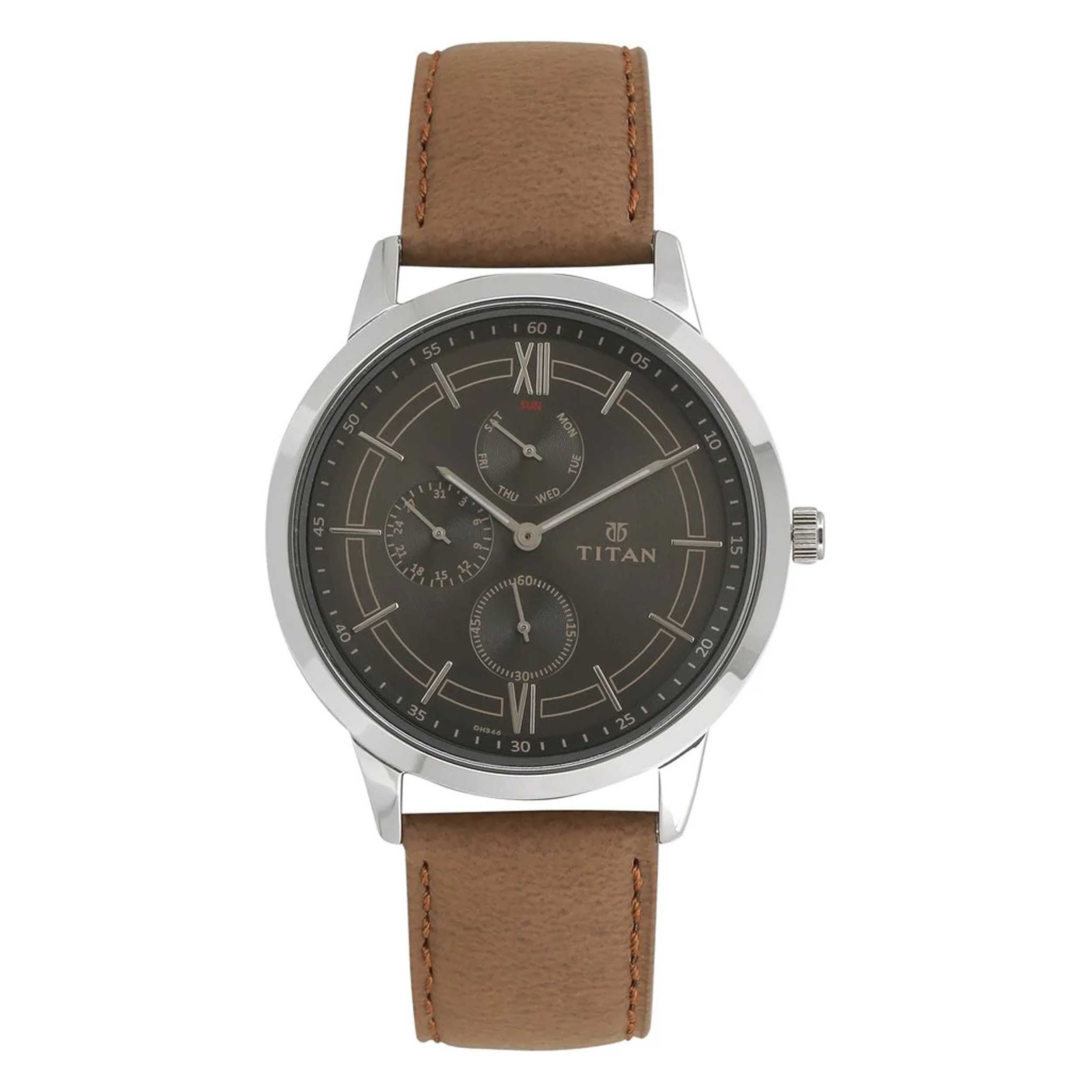 ساعت مچی عقربه ای مردانه تیتان مدل T1769SL01