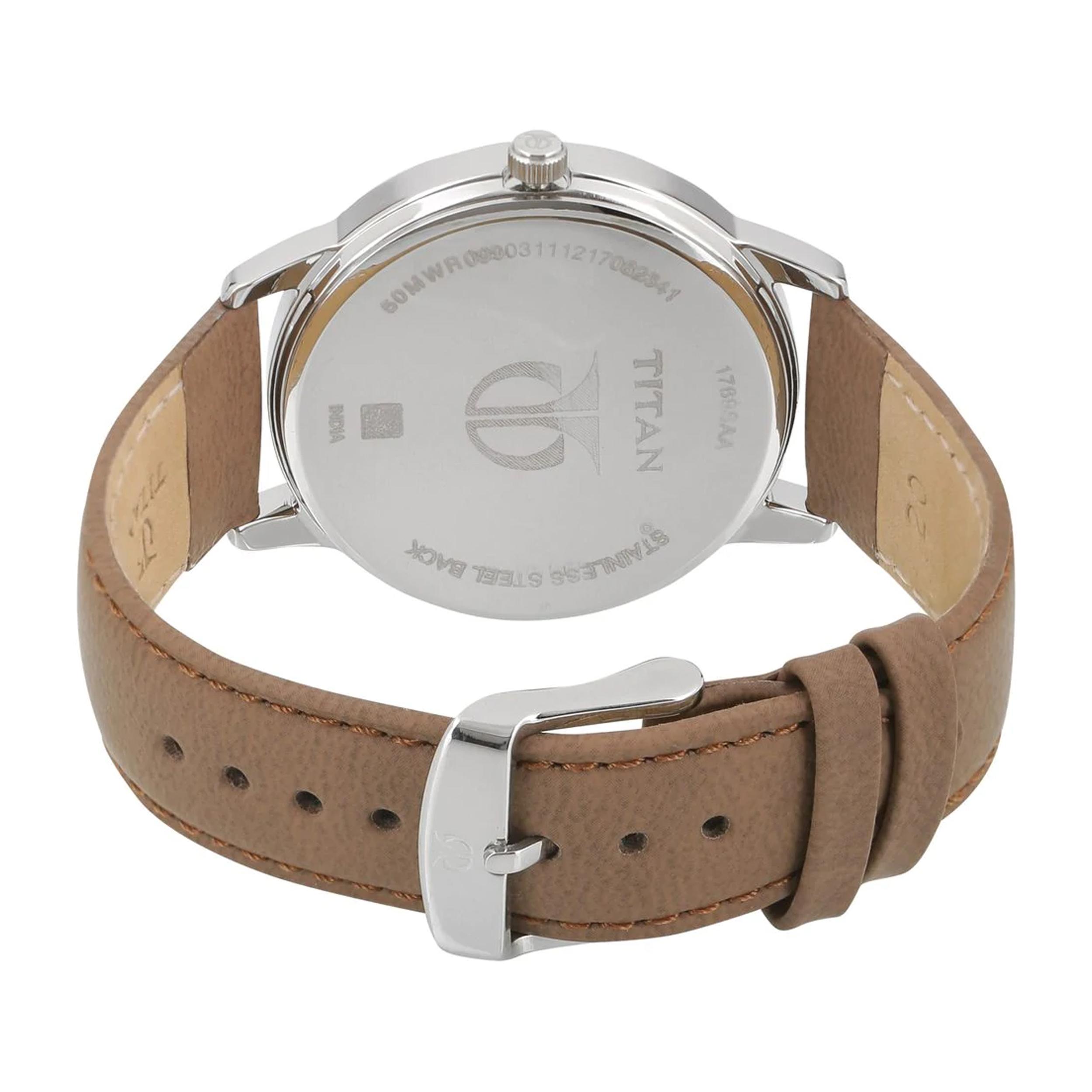 ساعت مچی  مردانه تایتن مدل T1769SL01              اصل