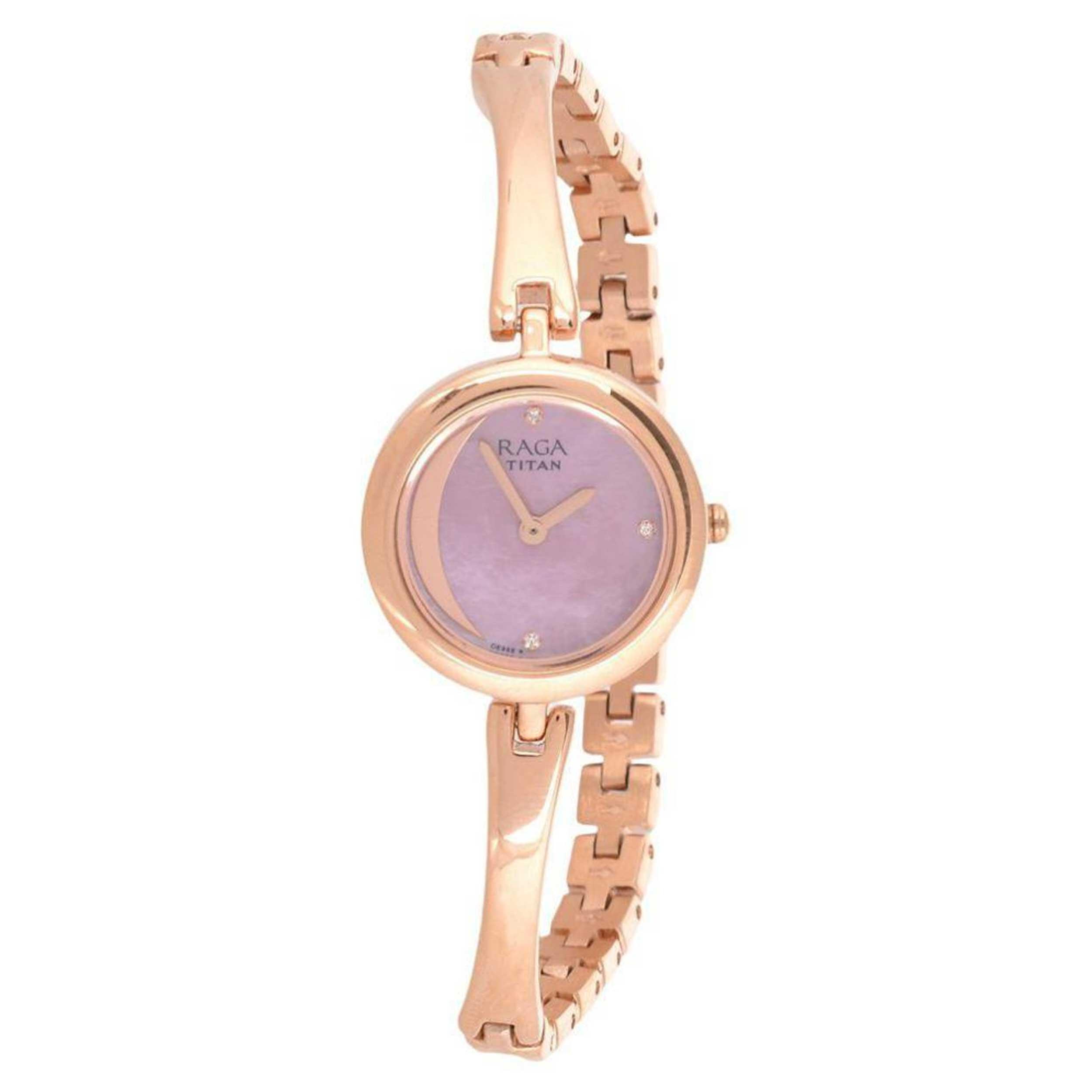 ساعت مچی عقربه ای زنانه تایتن مدل T2553WM01