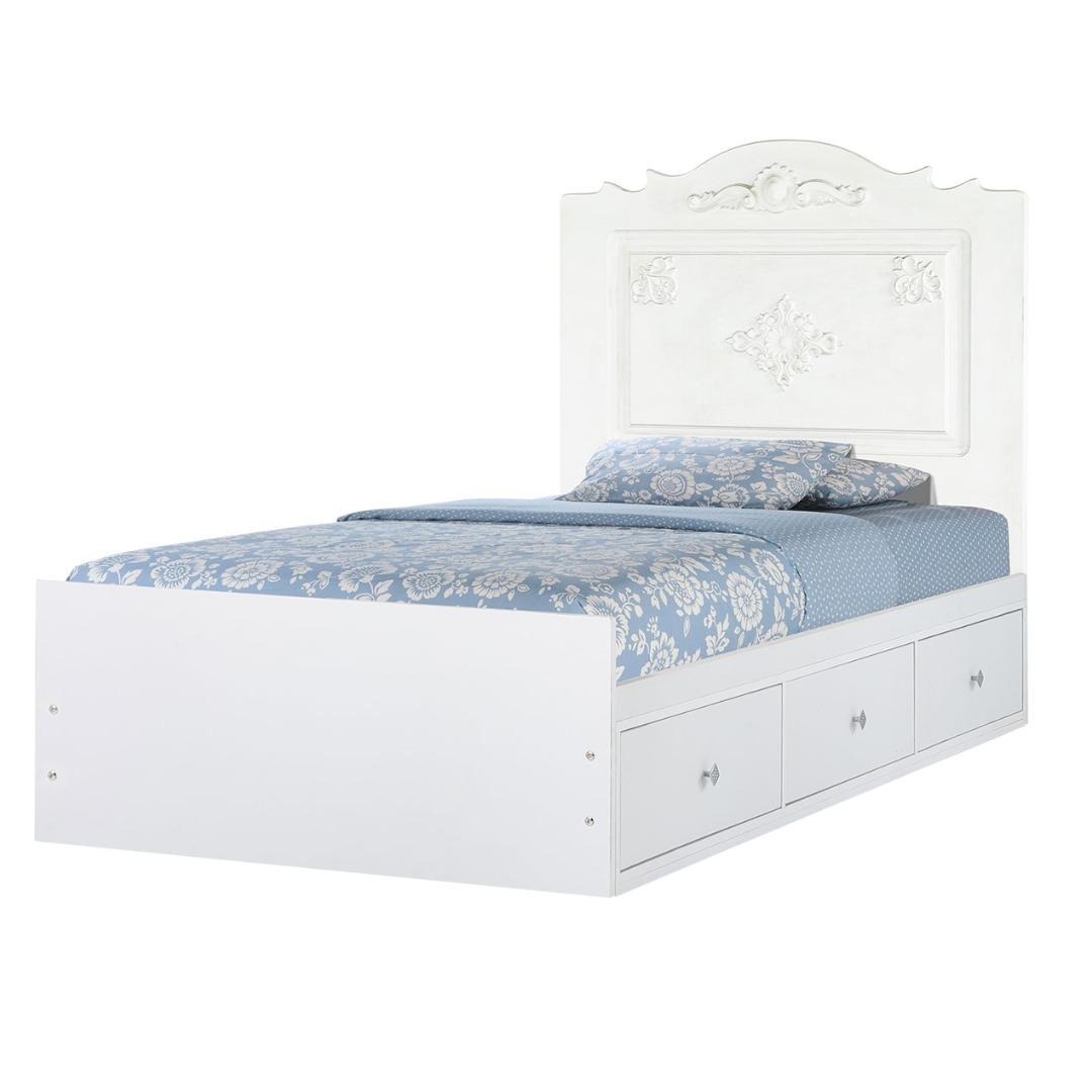 تخت خواب یکنفره کد217 سایز 90x200 سانتی متر