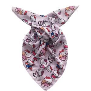 روسری دخترانه طرح کیتی کد R.1001.G