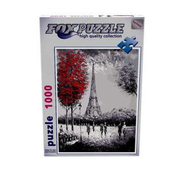 پازل 1000 تکه فاکس پازل  طرح برج ایفل پاریس کد 62020