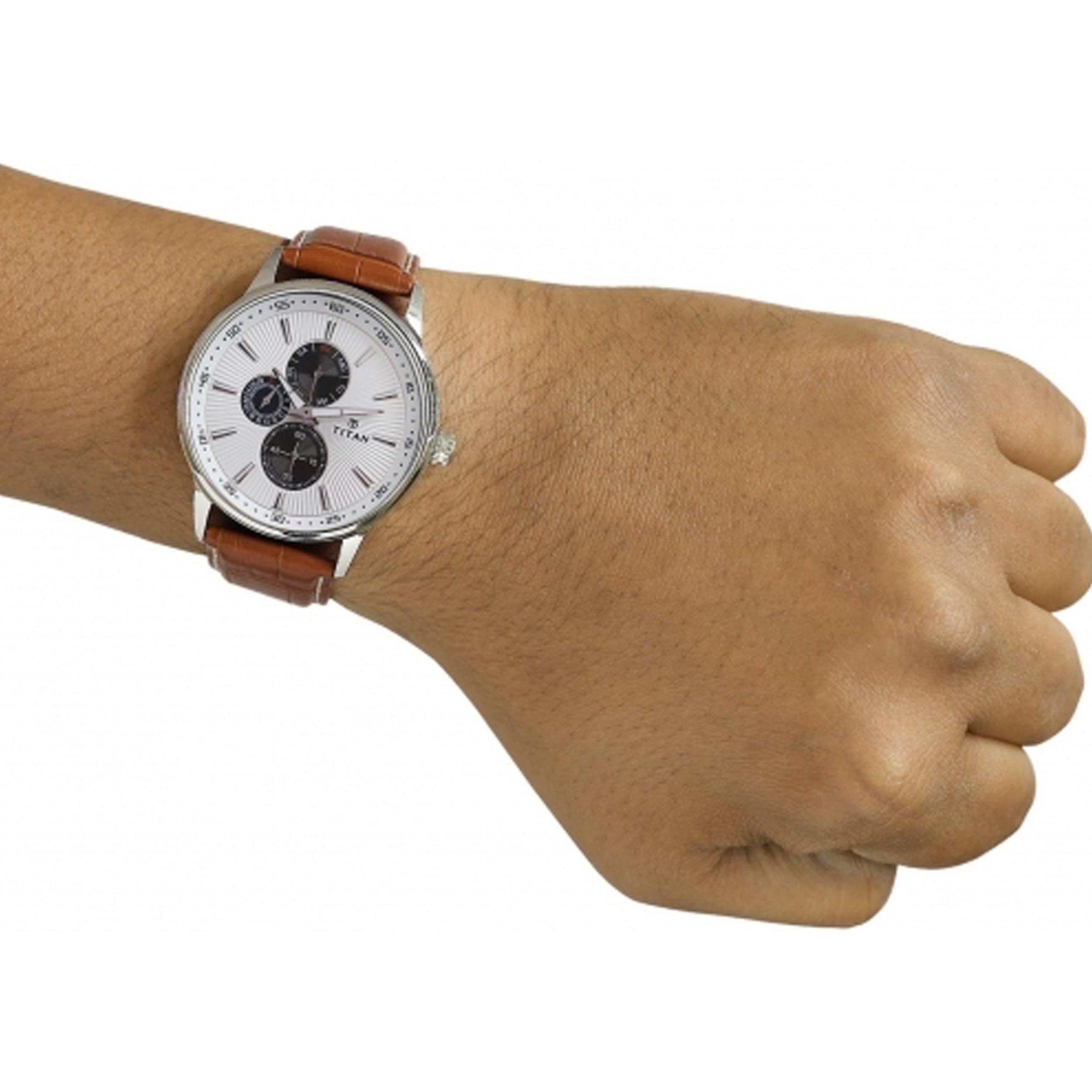 ساعت مچی عقربه ای مردانه تیتان مدل T9441SL01