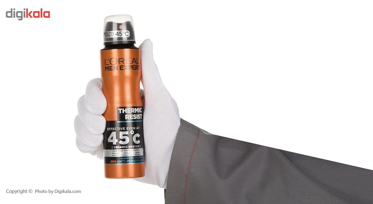 اسپری ضد تعریق لورآل سری Men Expert مدل Thermic Resist حجم 150 میلی لیتر main 1 3