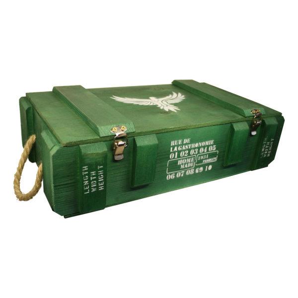 جعبه هدیه طرح جعبه مهمات مدل m33