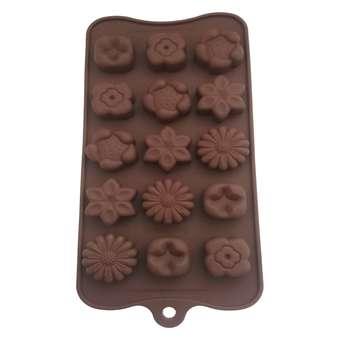 قالب شکلات طرح گل کد 002