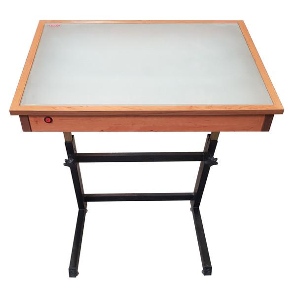 میز نور مهرگان مدل LT 02 سایز 100×80 سانتی متر