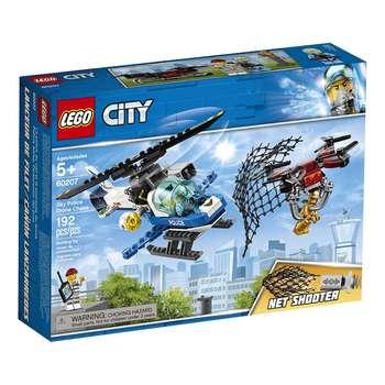 لگو سری City مدل 60207 Sky Police Drone Chase