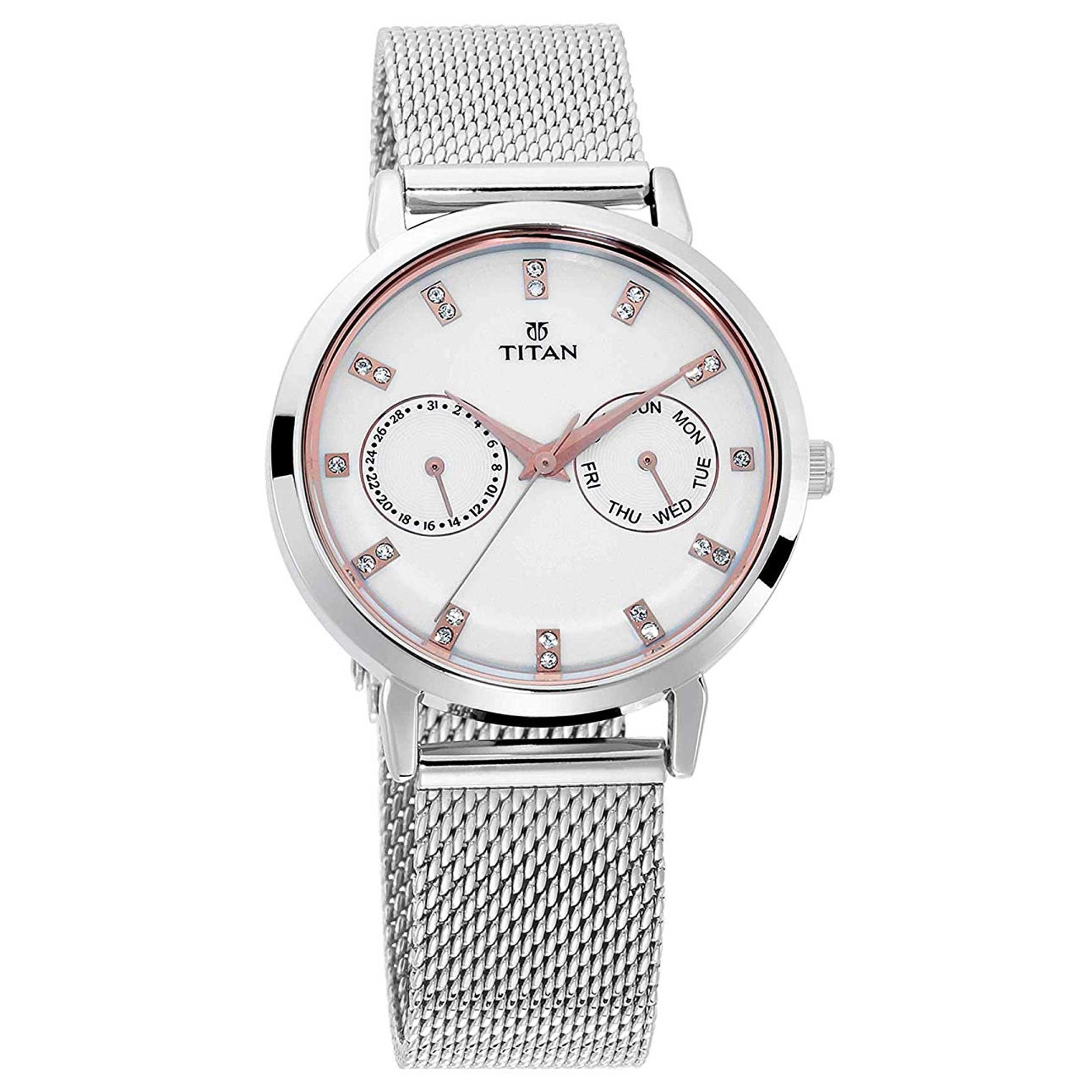 قیمت و خرید                      ساعت مچی عقربه ای مردانه تایتن مدل t2569sm05