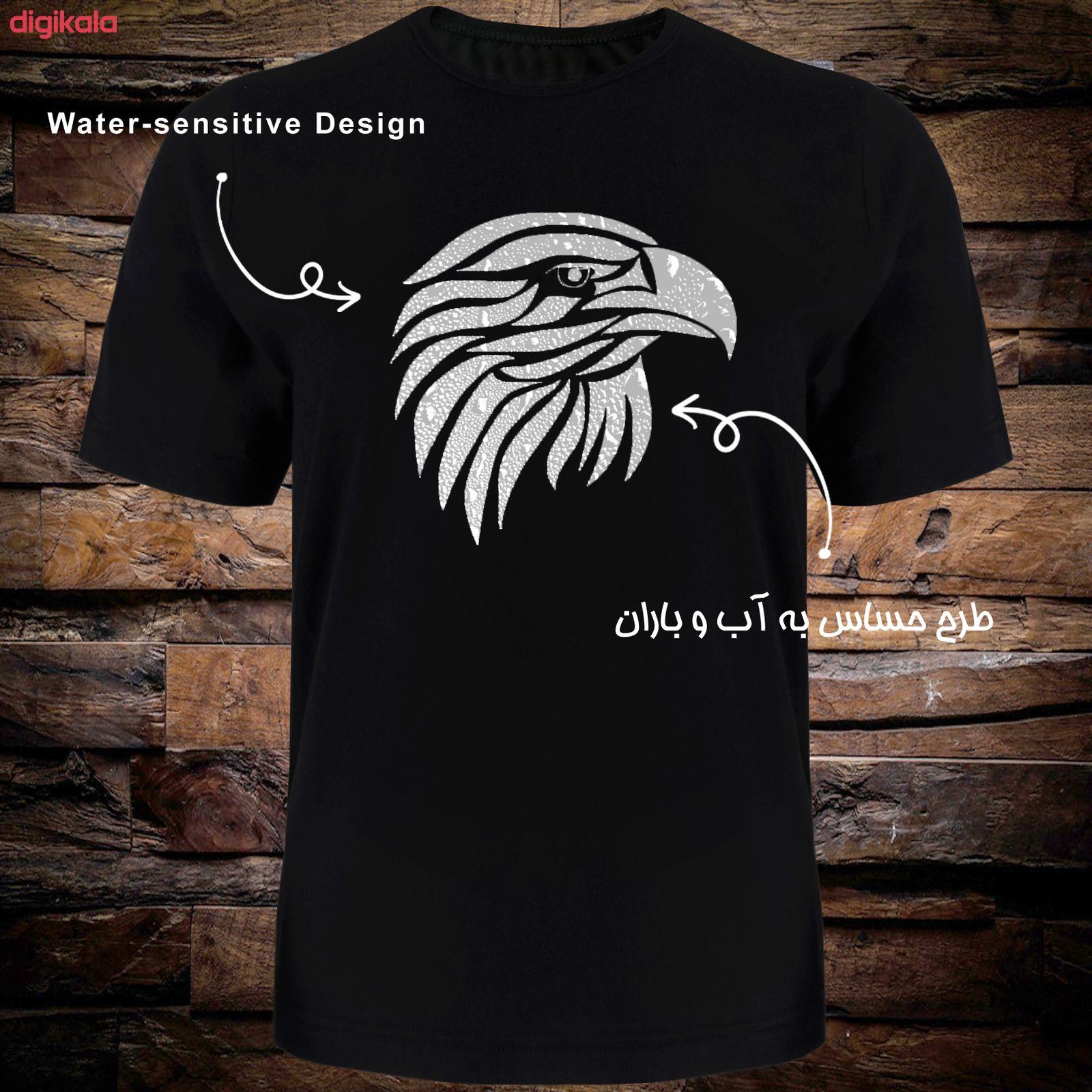 تی شرت آستین کوتاه مردانه طرح عقاب کد TR05 main 1 4