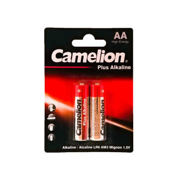 باتری قلمی کملیون مدل Plus Alkaline کد 025 بسته 2 عددی