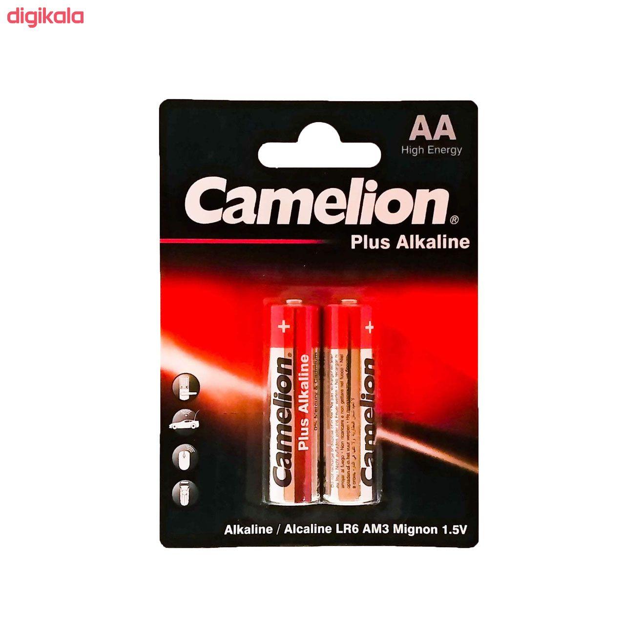 باتری قلمی کملیون مدل Plus Alkaline کد 025 بسته 2 عددی  main 1 1