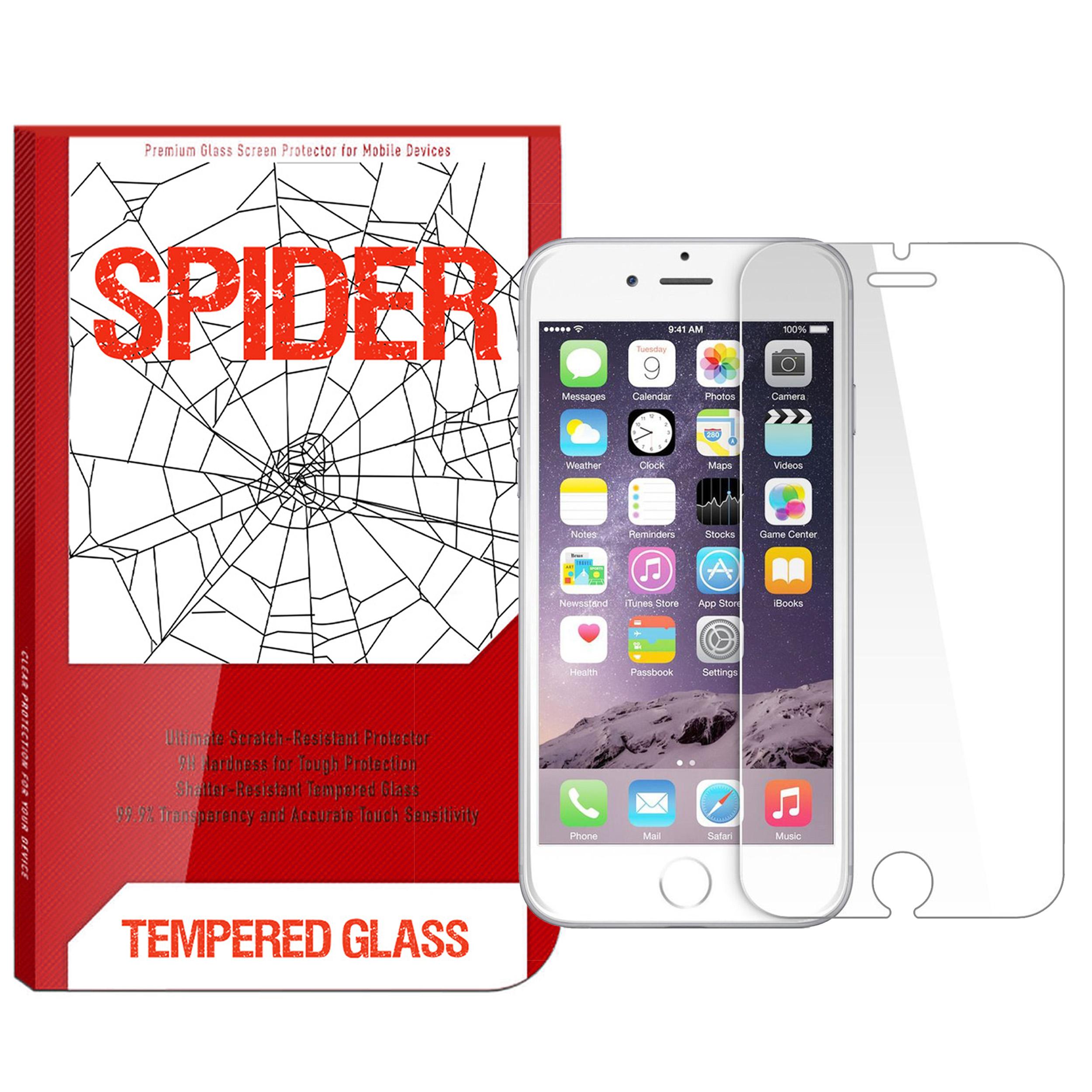 محافظ صفحه نمایش مات اسپایدر مدل MF-S001 مناسب برای گوشی موبایل اپل iPhone 6 / 6s