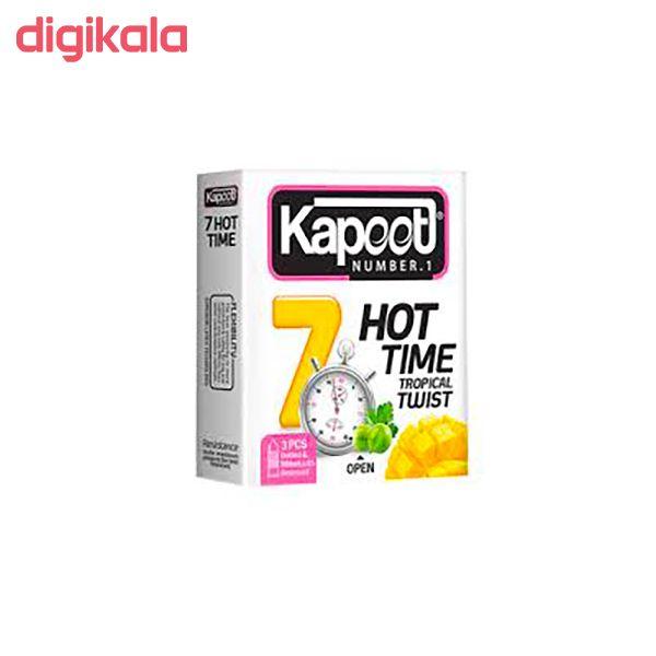 کاندوم کاپوت مدل Hot Time 7  بسته 3 عددی main 1 1
