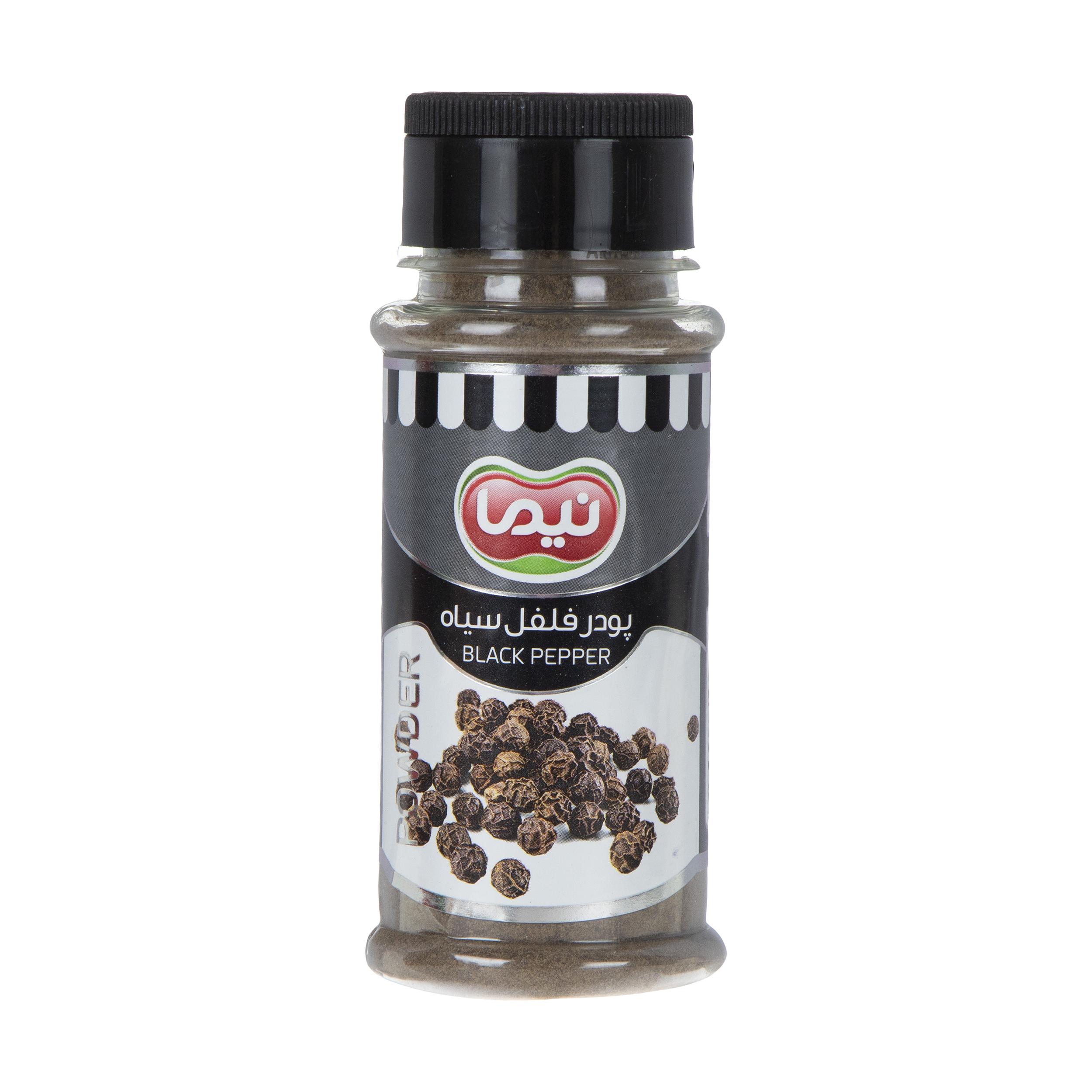 خرید                      ادویه فلفل سیاه نیما - 100 گرم
