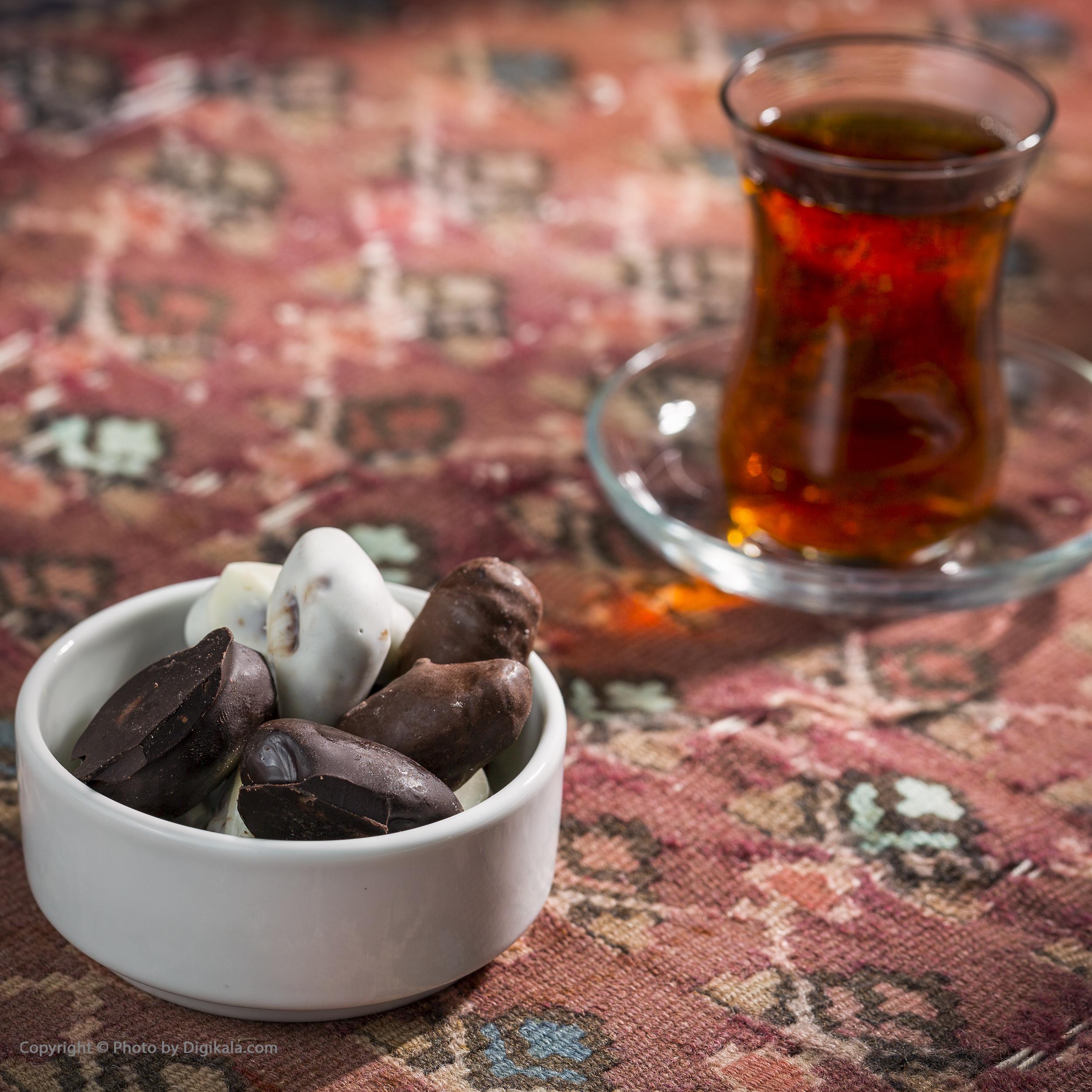 خرما با مغز بادام و روکش شکلات شیگوار - 800 گرم main 1 1