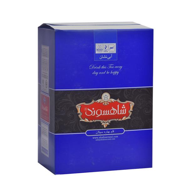 چای سیاه قلم سیلانی آبی نشان شاهسوند - 450 گرم