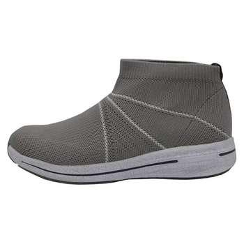 کفش مخصوص پیاده روی مردانه پرفکت استپس مدل ولونیو رنگ طوسی