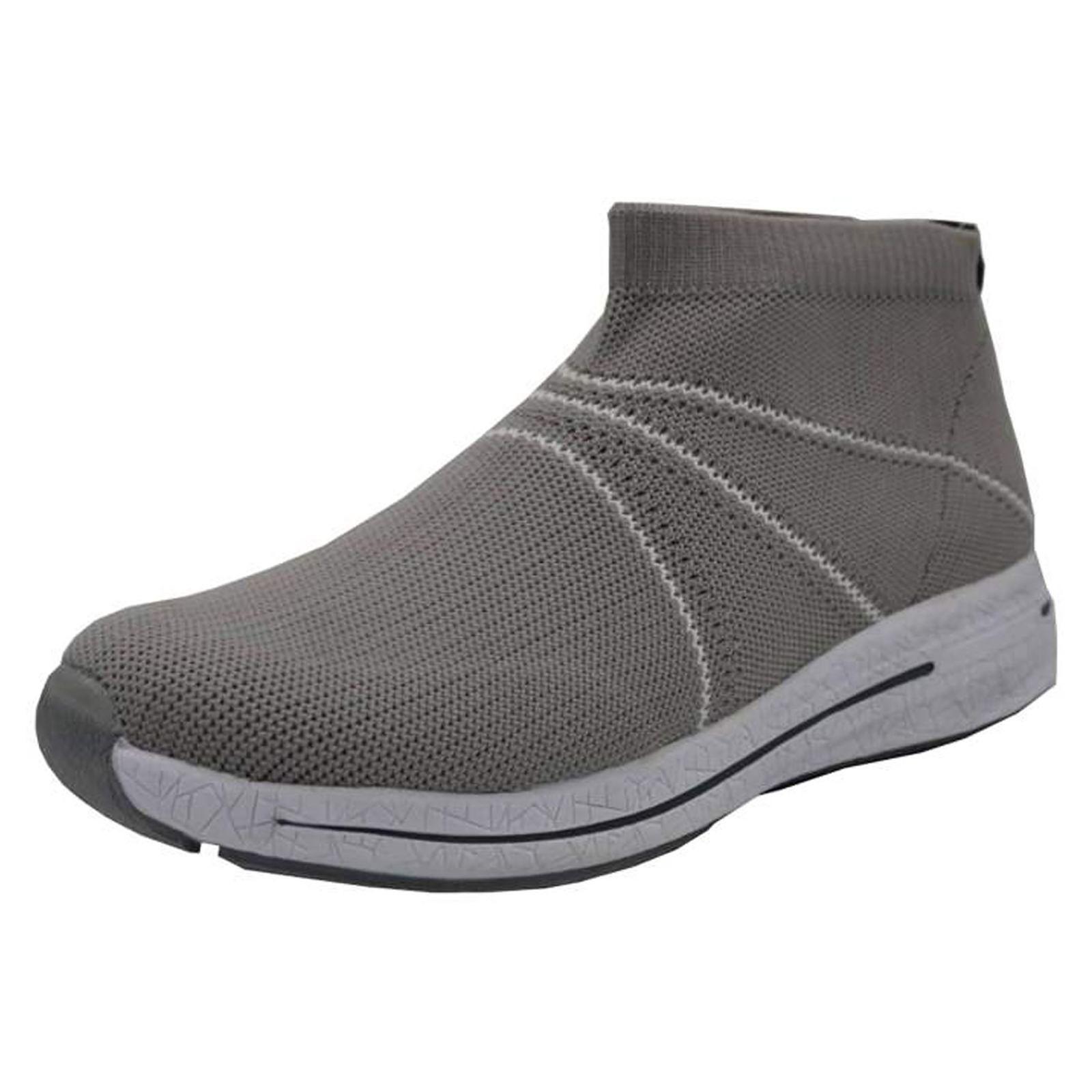 کفش مخصوص پیاده روی مردانه پرفکت استپس مدل ولونیو رنگ طوسی main 1 1