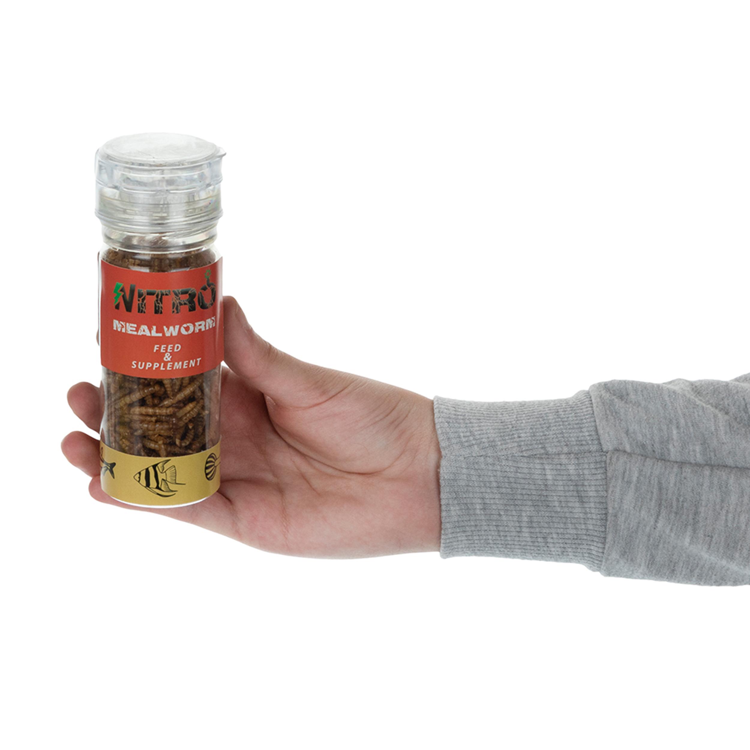 خرید                      غذای خشک نیترو مدل Meal Worm مقدار 25 گرم