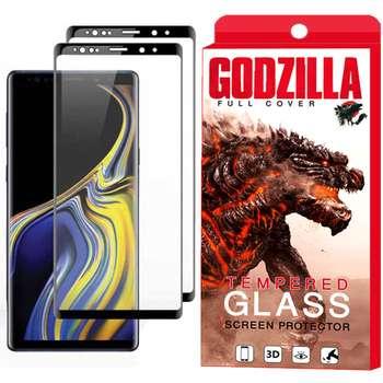 محافظ صفحه نمایش گودزیلا مدل GGF مناسب برای گوشی موبایل سامسونگ Galaxy Note 9 بسته 2 عددی