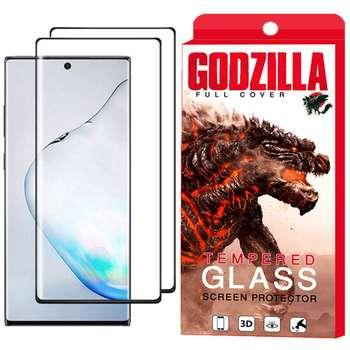 محافظ صفحه نمایش گودزیلا مدل GGF مناسب برای گوشی موبایل سامسونگ Galaxy Note 10 Plus بسته 2 عددی