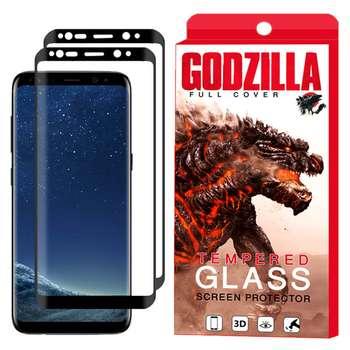 محافظ صفحه نمایش گودزیلا مدل GGF مناسب برای گوشی موبایل سامسونگ Galaxy S9 بسته 2 عددی