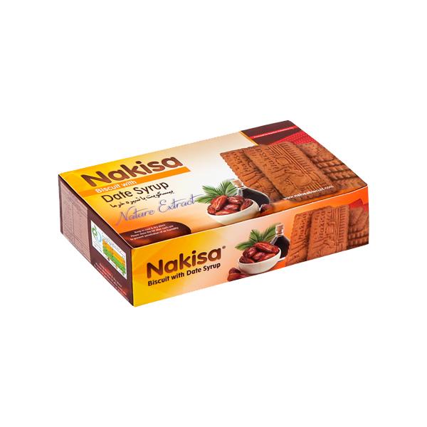 بیسکویت نکیسا با شیره خرما - 250 گرم