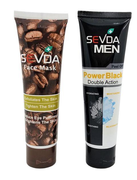 ماسک صورت سودا مدل Power and Coffee حجم 100 میلی لیتر