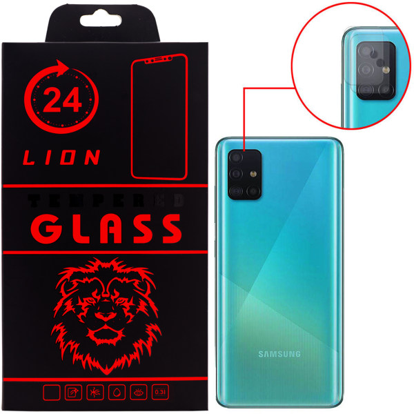 محافظ لنز دوربین  لاین مدل RL007 مناسب برای گوشی موبایل سامسونگ Galaxy A51 بسته دو عددی