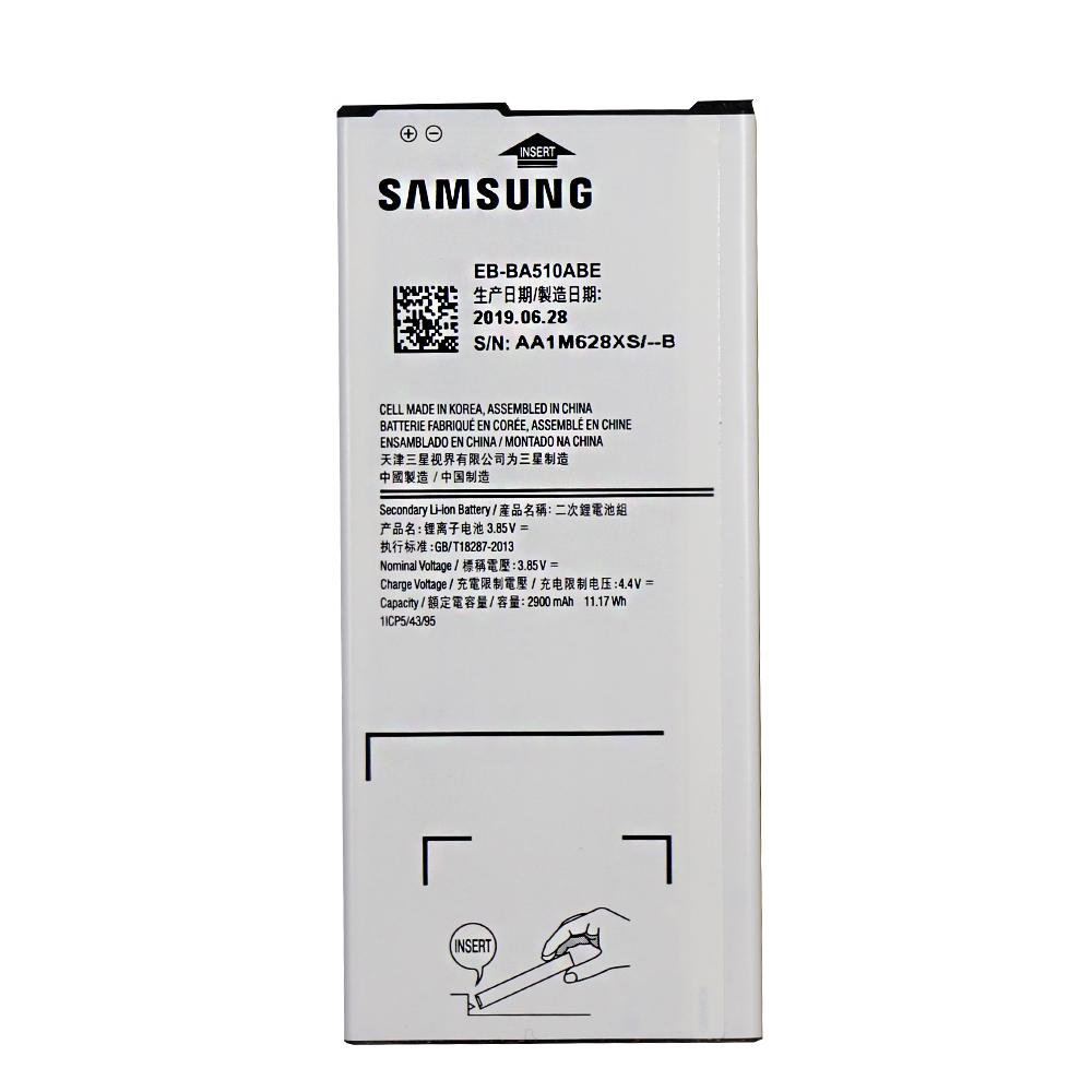 باتری موبایل مدل EB-BA510ABE ظرفیت 2900 میلی آمپر ساعت مناسب برای گوشی موبایل سامسونگ Galaxy A5 2016