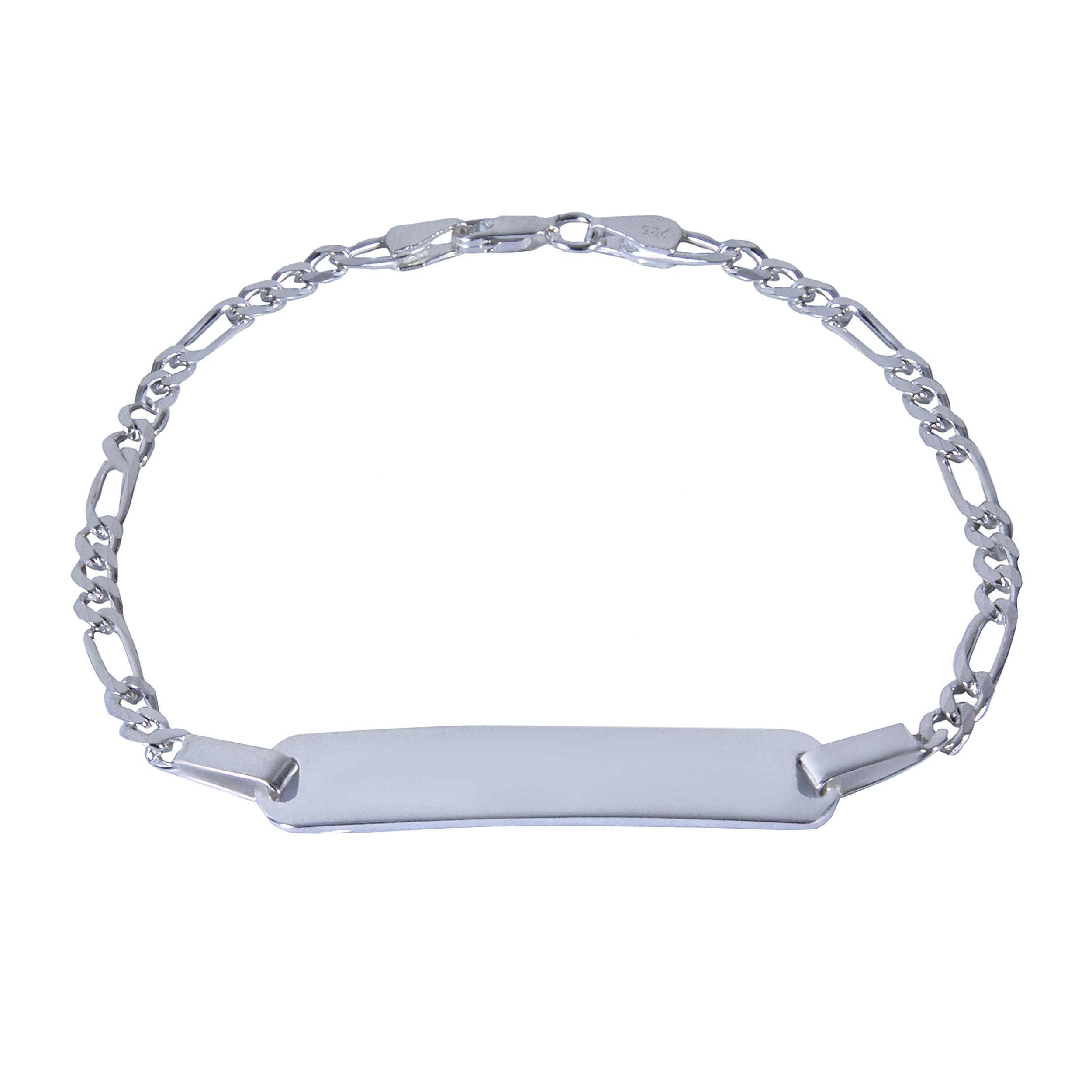 دستبند نقره بازرگانی میلادی کد DP_001
