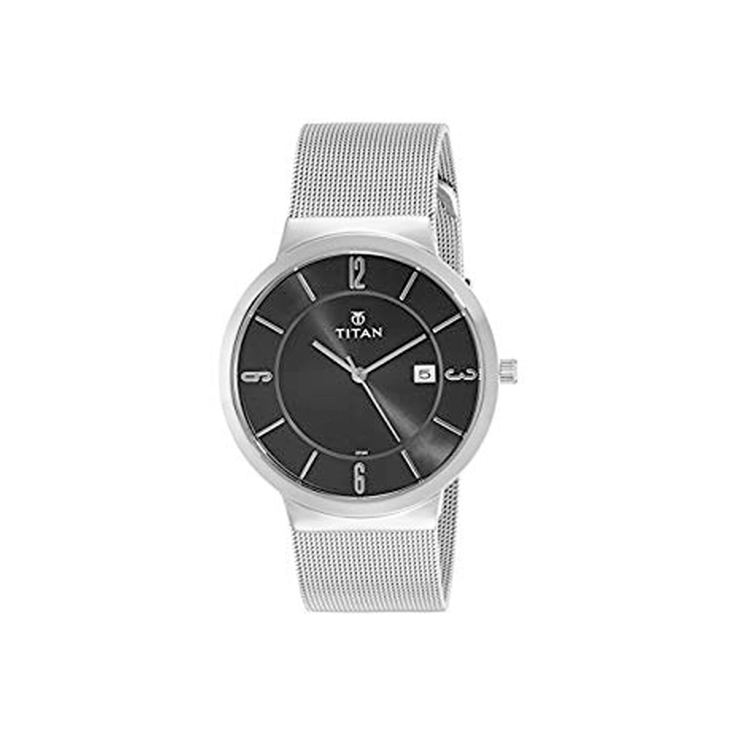 قیمت                      ساعت مچی عقربه ای مردانه تایتن مدل T90053SM01