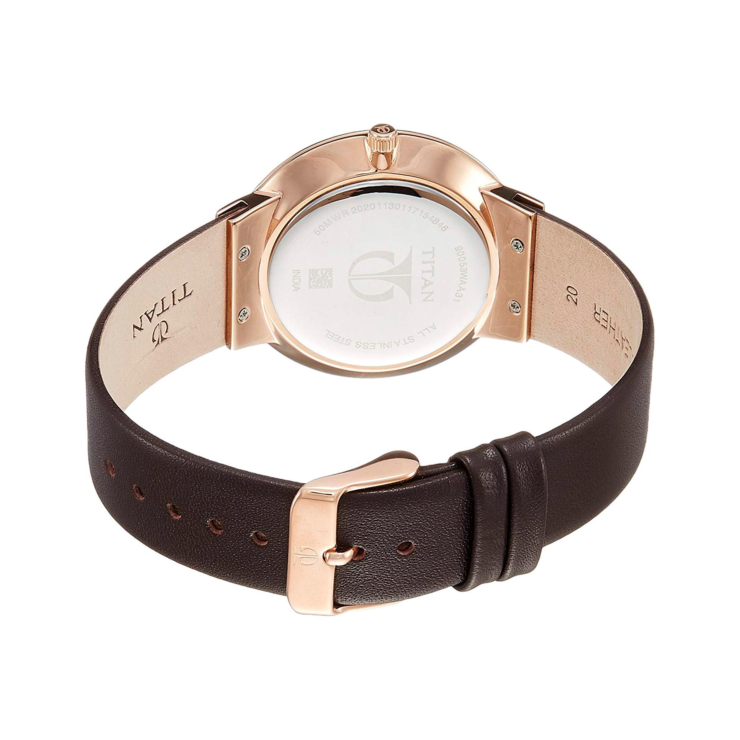 ساعت مچی عقربه ای مردانه تایتن مدل T90053WL01
