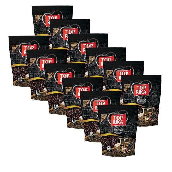 قهوه فوری classic تاپریکا بسته 12عددی