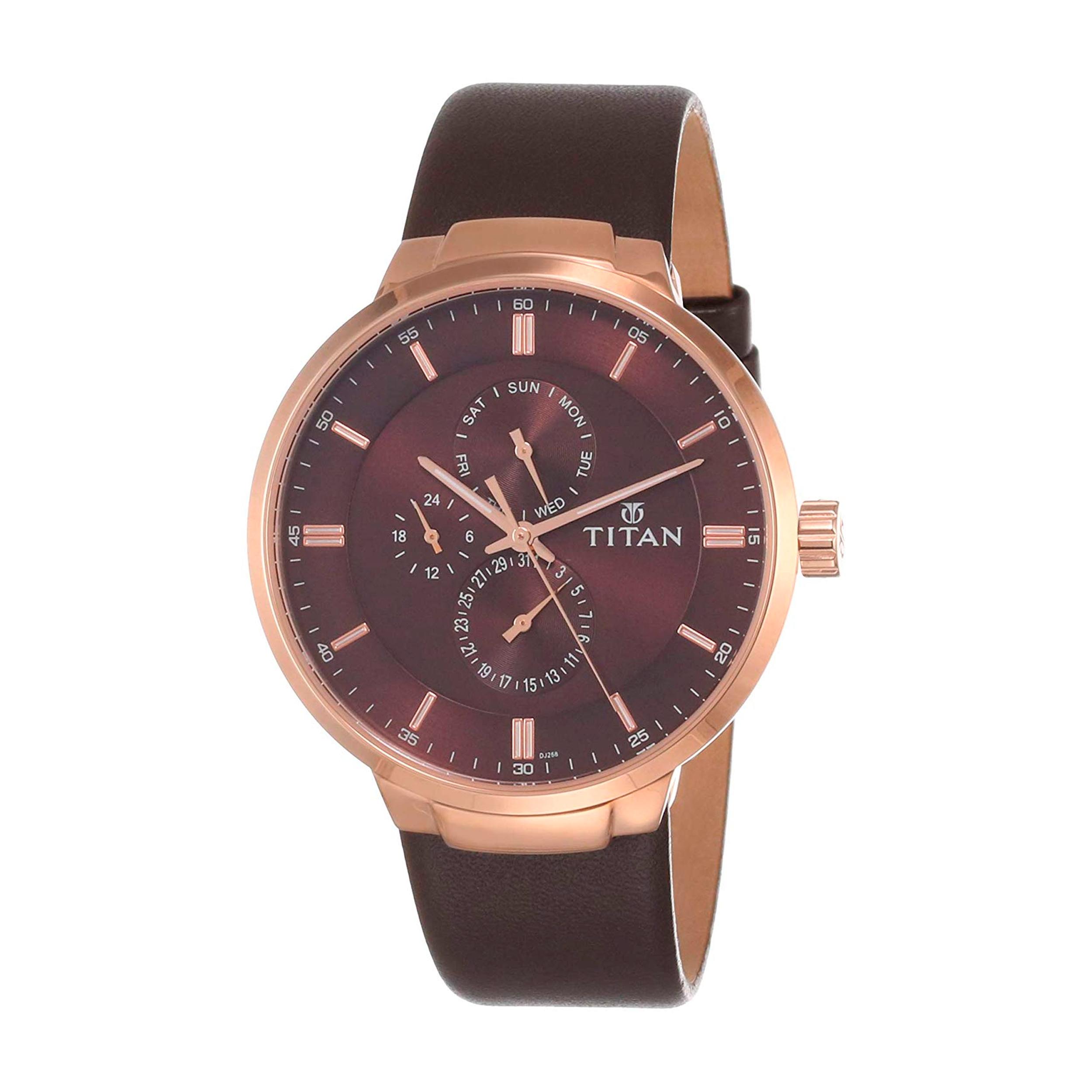 ساعت مچی عقربه ای مردانه تیتان مدل T90093WL01