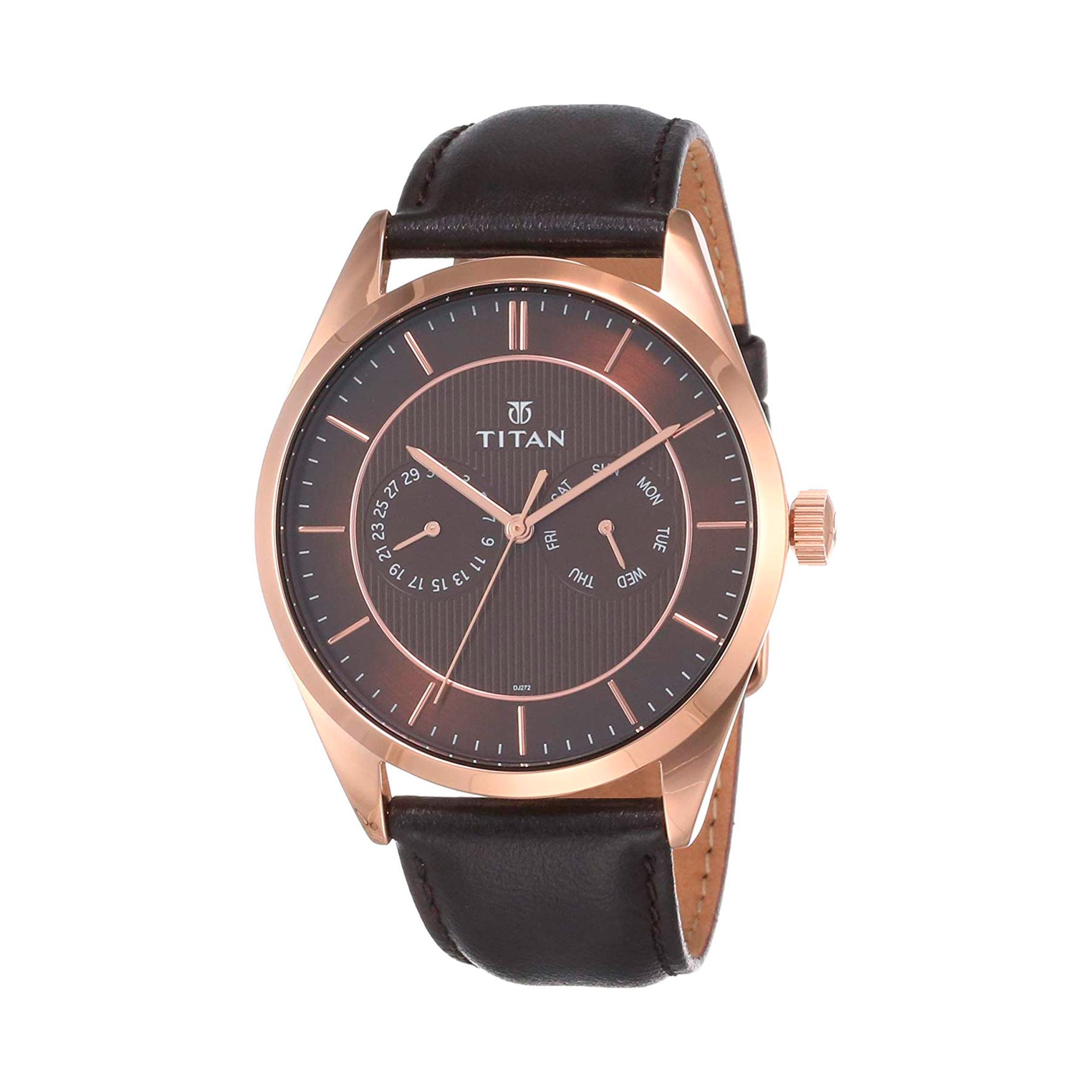 قیمت و خرید                      ساعت مچی عقربه ای مردانه تایتن مدل T90098WL01
