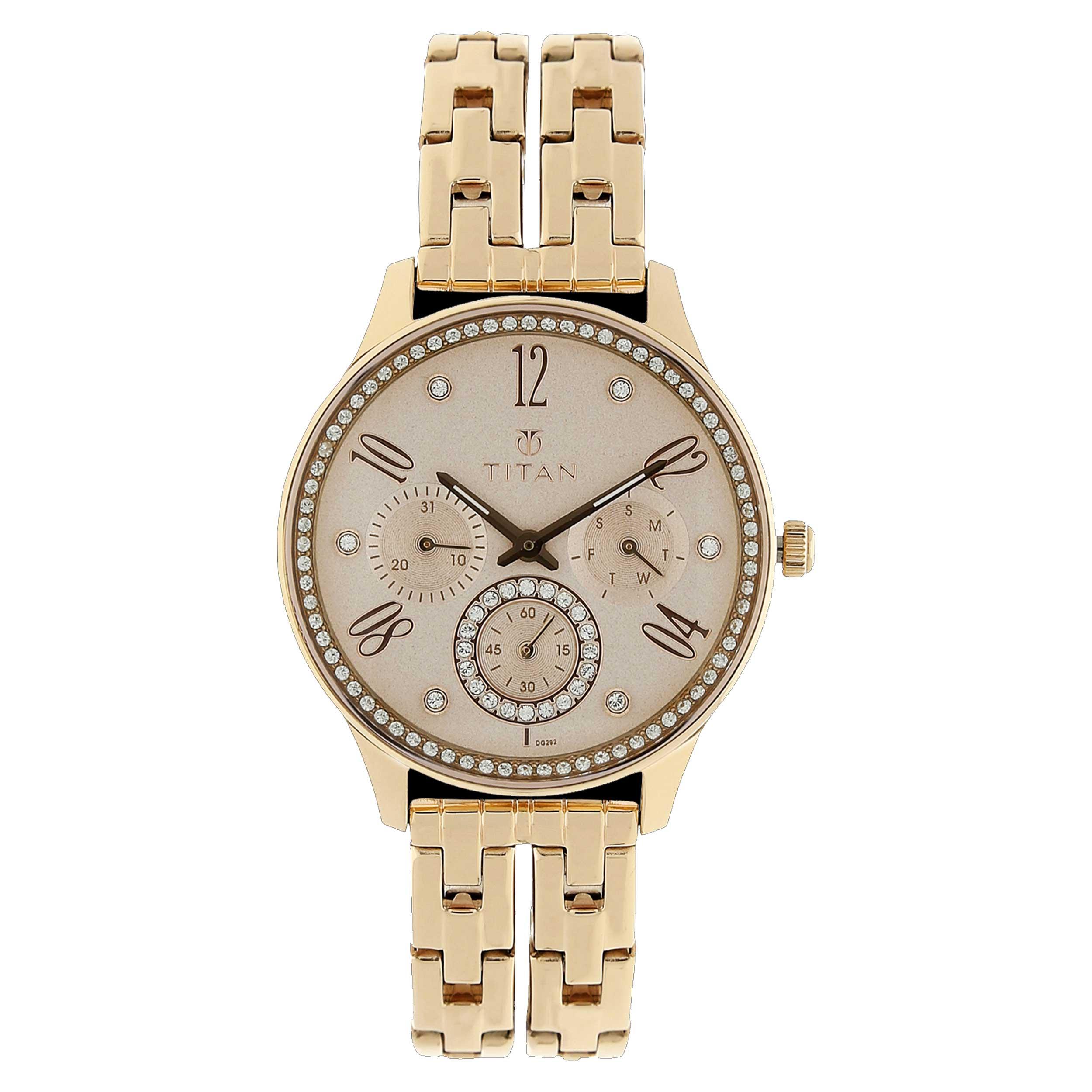 ساعت  زنانه تایتن مدل T95040WM01