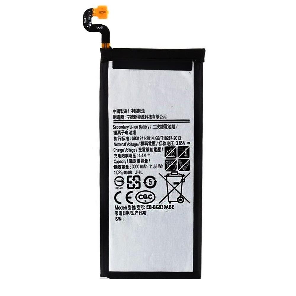 باتری موبایل مدل EB-BG930ABE ظرفیت 3000میلی آمپر ساعت مناسب برای گوشی موبایل سامسونگ Galaxy s7
