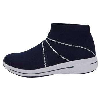 کفش مخصوص پیاده روی مردانه پرفکت استپس مدل ولونیو رنگ سرمه ای