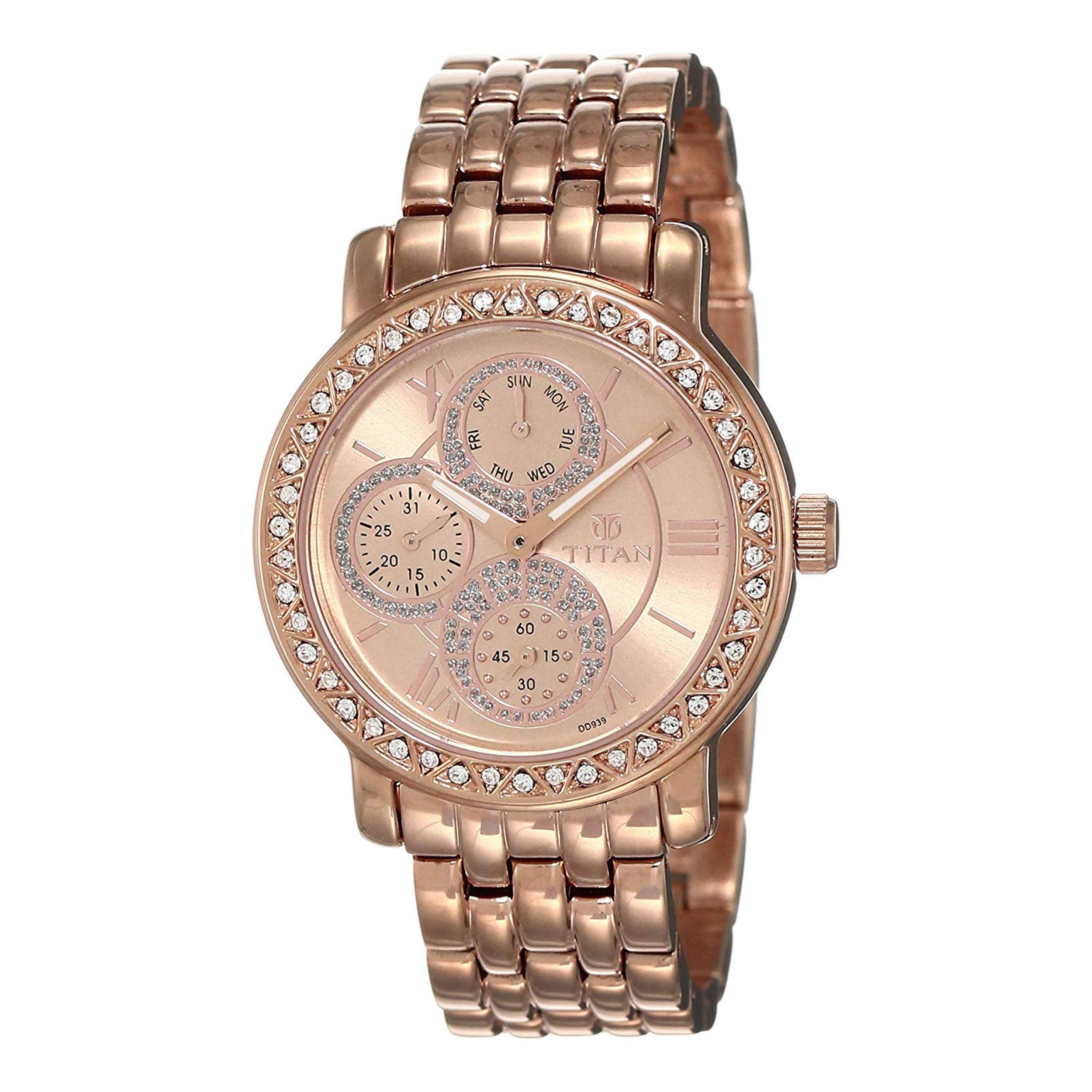 ساعت  زنانه تایتن مدل T9743WM01