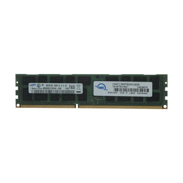 رم سرور DDR3 دو کاناله 1333 مگاهرتز CL7 اُ دبلیو سی مدل PC10600 ECC Registered ظرفیت 4 گیگابایت