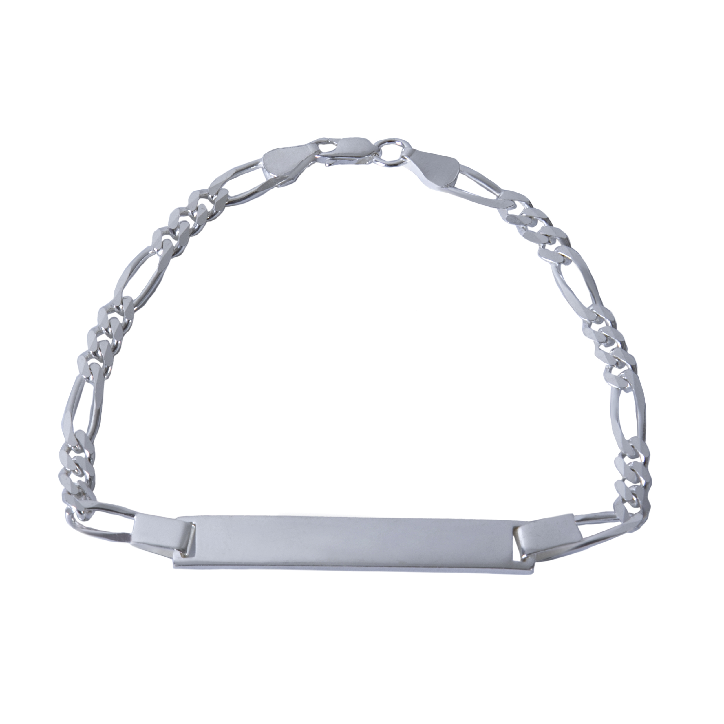 دستبند نقره بازرگانی میلادی کد DP_004
