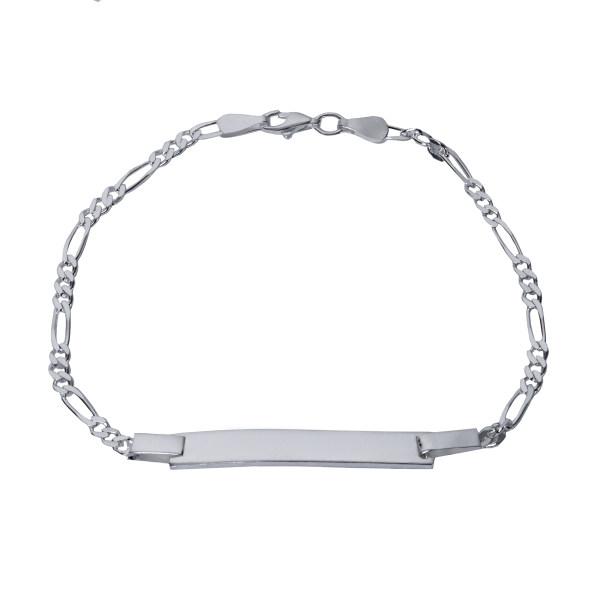 دستبند نقره بازرگانی میلادی کد DP_005