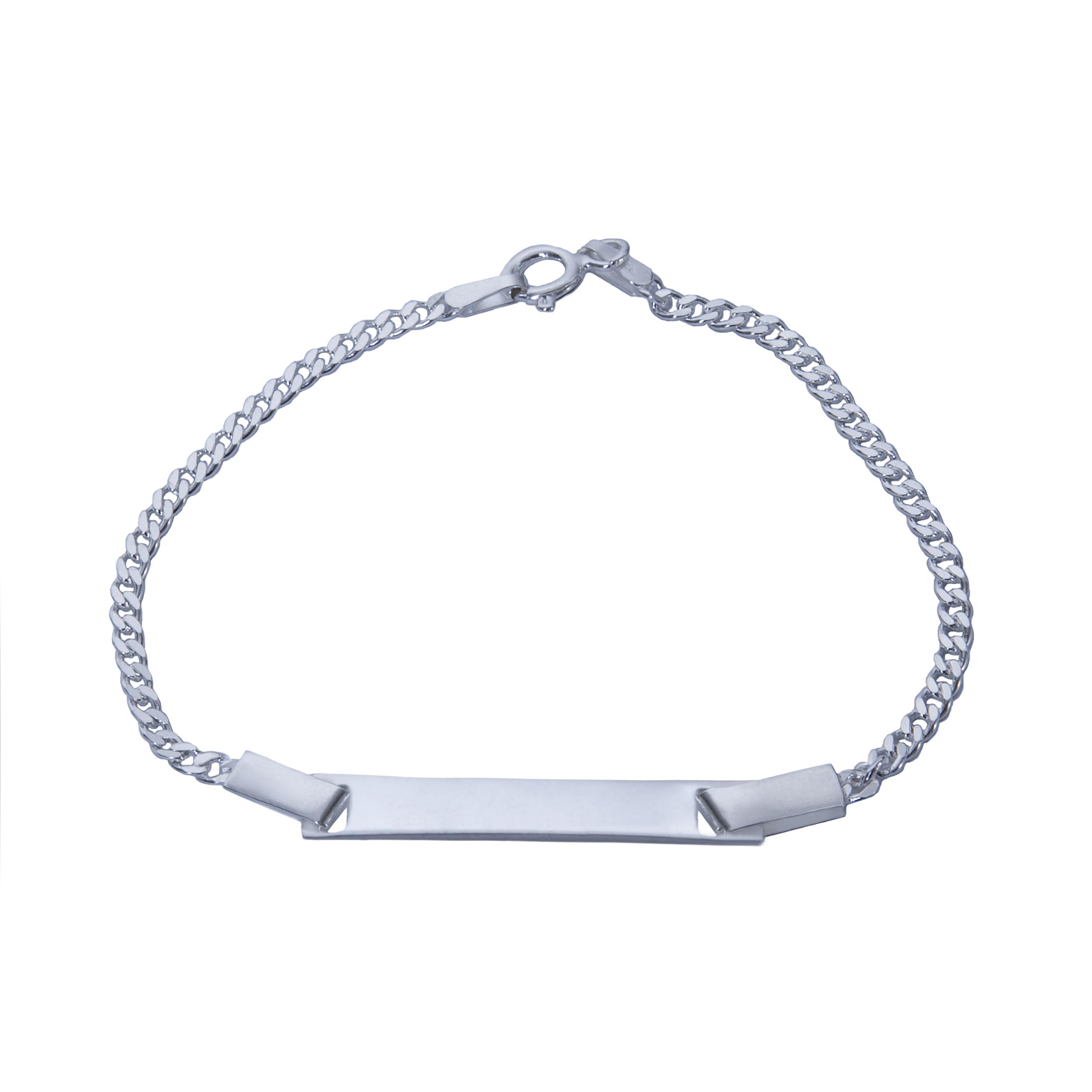 دستبند نقره بازرگانی میلادی کد DP_006